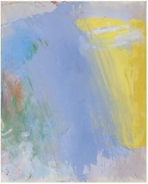 """Rain,Sun"", acrylic on linen, 60 x 48 in, 2008/09. George Hofmann"